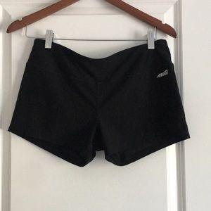 Pants - Stretch workout shorts, never worn, Size M